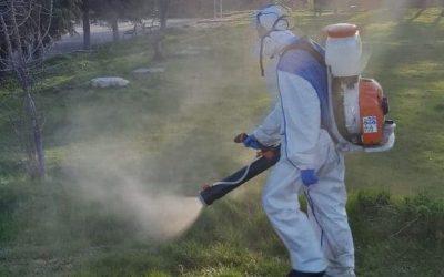 Третиране на обществени зелени площи на територията на Община Велики Преслав против кърлежи